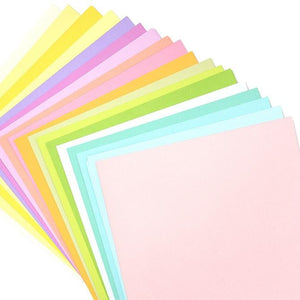 SPRING VARIETY PACK_60 sheets_textured cardstock_20 colors__American Crafts_376993_fan