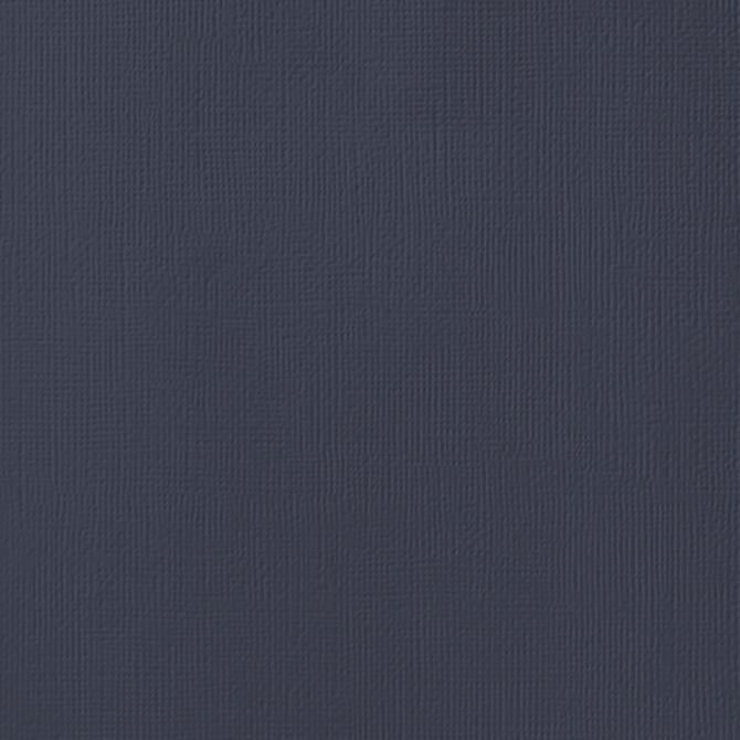 STORM dark blue-gray cardstock - 12x12 inch - 80 lb - textured scrapbook paper - American Crafts
