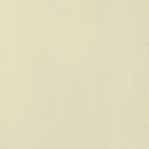 STRAW buff color cardstock - 12x12 inch - 80 lb - textured scrapbook paper - American Crafts