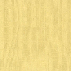 Bazzill Basics SUNBEAM yellow cardstock - 12x12 inch - 80 lb - textured scrapbook paper