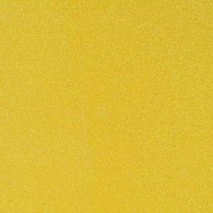 SUNFLOWER bright yellow glitter cardstock - 12x12 inch - American Crafts