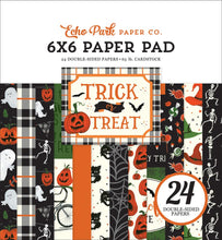 Load image into Gallery viewer, Trick or Treat 6x6 Pad coordinates with Echo Park collection kit