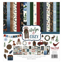 Load image into Gallery viewer, Warm and Cozy Collection Kit by Echo Park Paper Co.