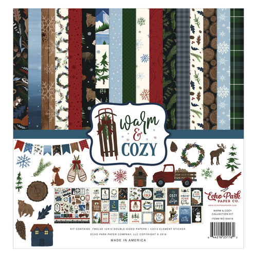 Warm and Cozy Collection Kit by Echo Park Paper Co.