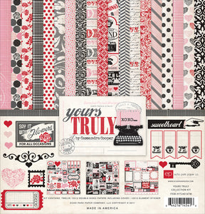 YOURS TRULY 12x12 Page Collection Kit by Echo Park Paper Co.