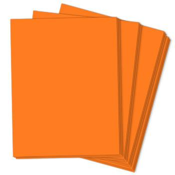 COSMIC ORANGE Astrobrights 8.5 x 11 cardstock from Neenah Paper Co.