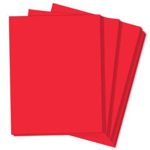 RE-ENTRY RED – Astrobrights 8.5 x 11 Cardstock - 65lb Cover