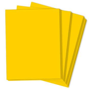 SOLAR YELLOW Astrobrights 8.5 x 11 cardstock from Neenah Paper Co.