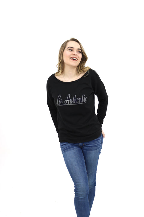 Be Authentic Sweatshirts