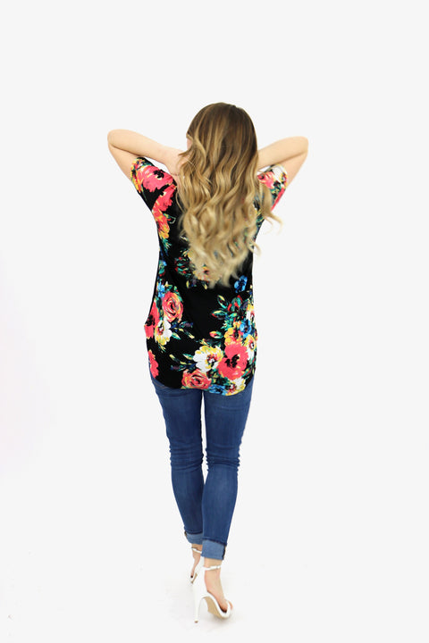 Blossom Bright Floral Top