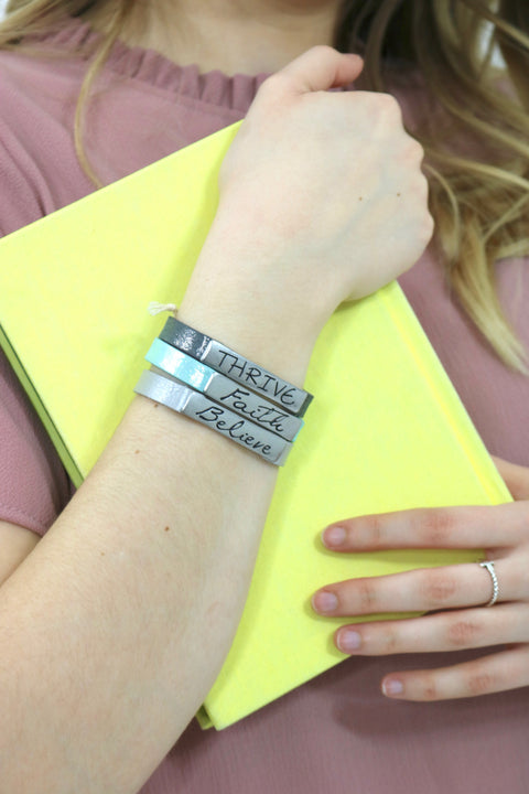 Faith Believe Thrive Bracelet