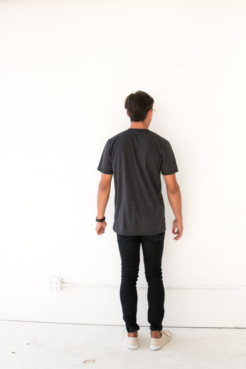 Pray Space Black Tee