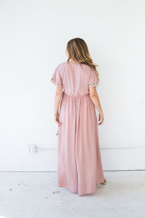 Bella Wrap Maxi Dress