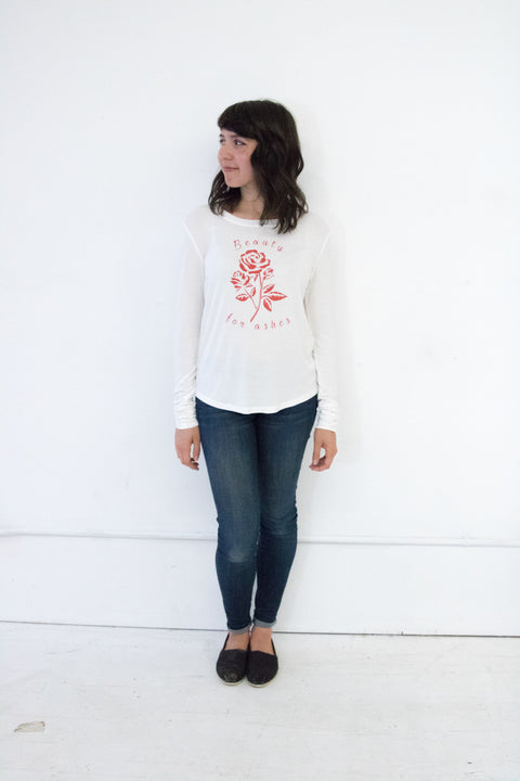Beauty For Ashes Long Sleeve Top