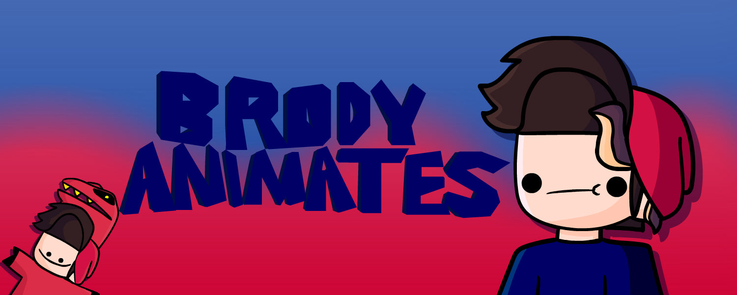Brody Animates Official Merch on Crowdmade
