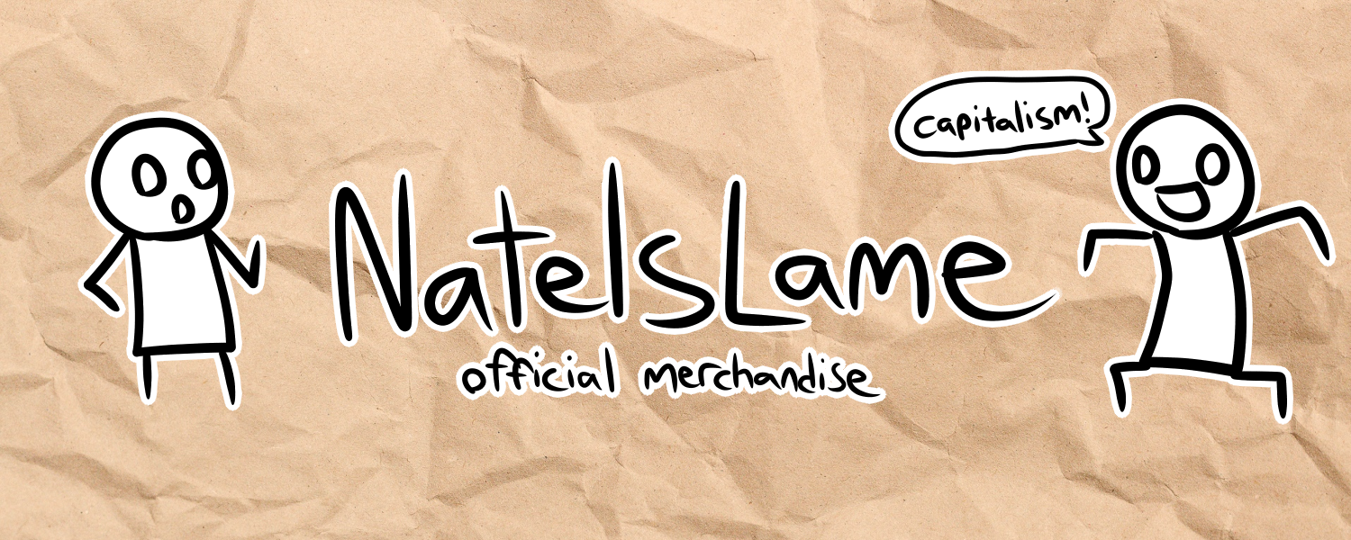 The official merch store of Nate Is Lame
