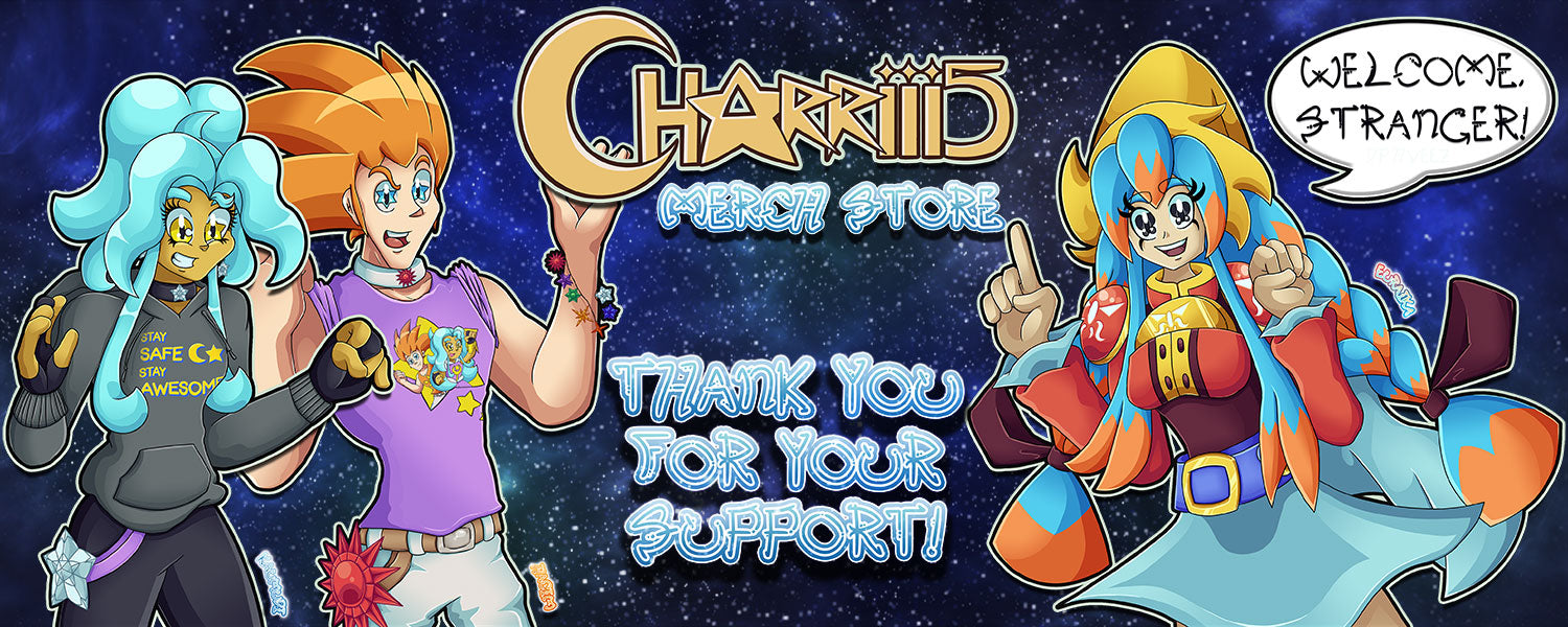Charriii5 official merch on Crowdmade