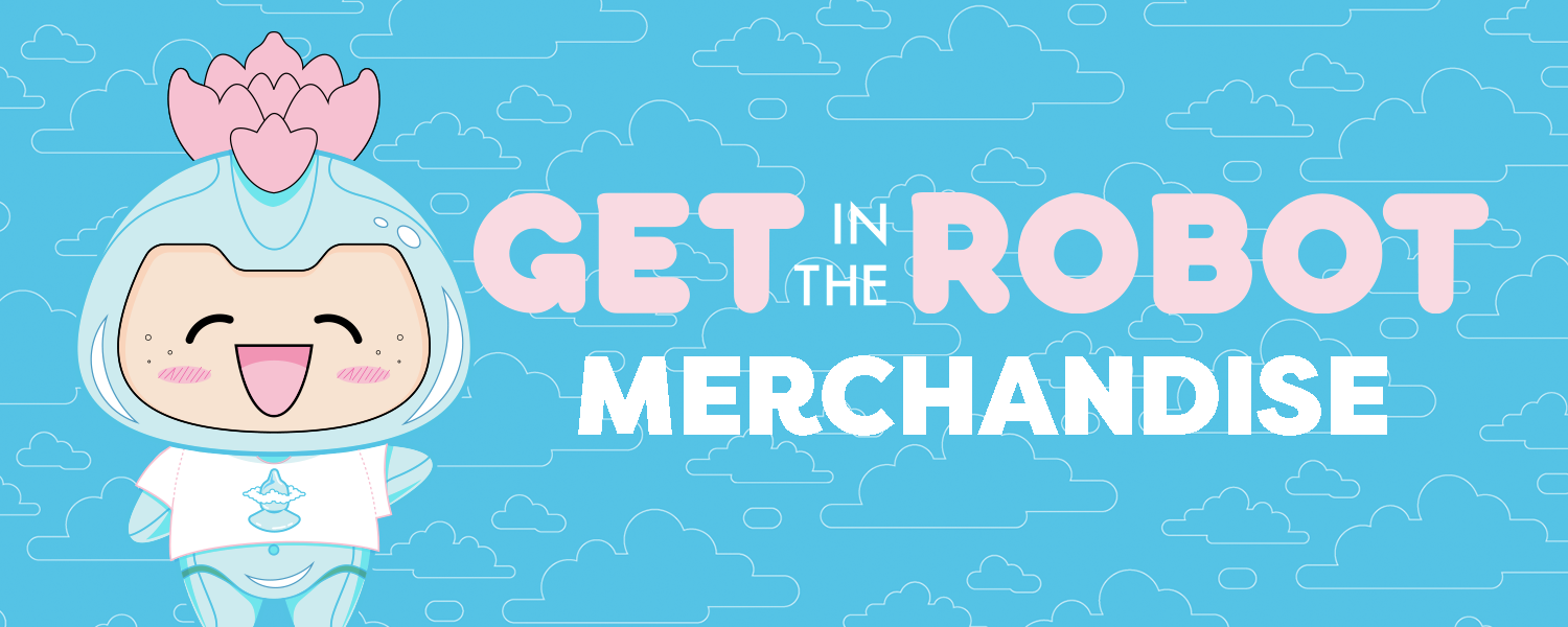 The official merch store for Get In The Robot.