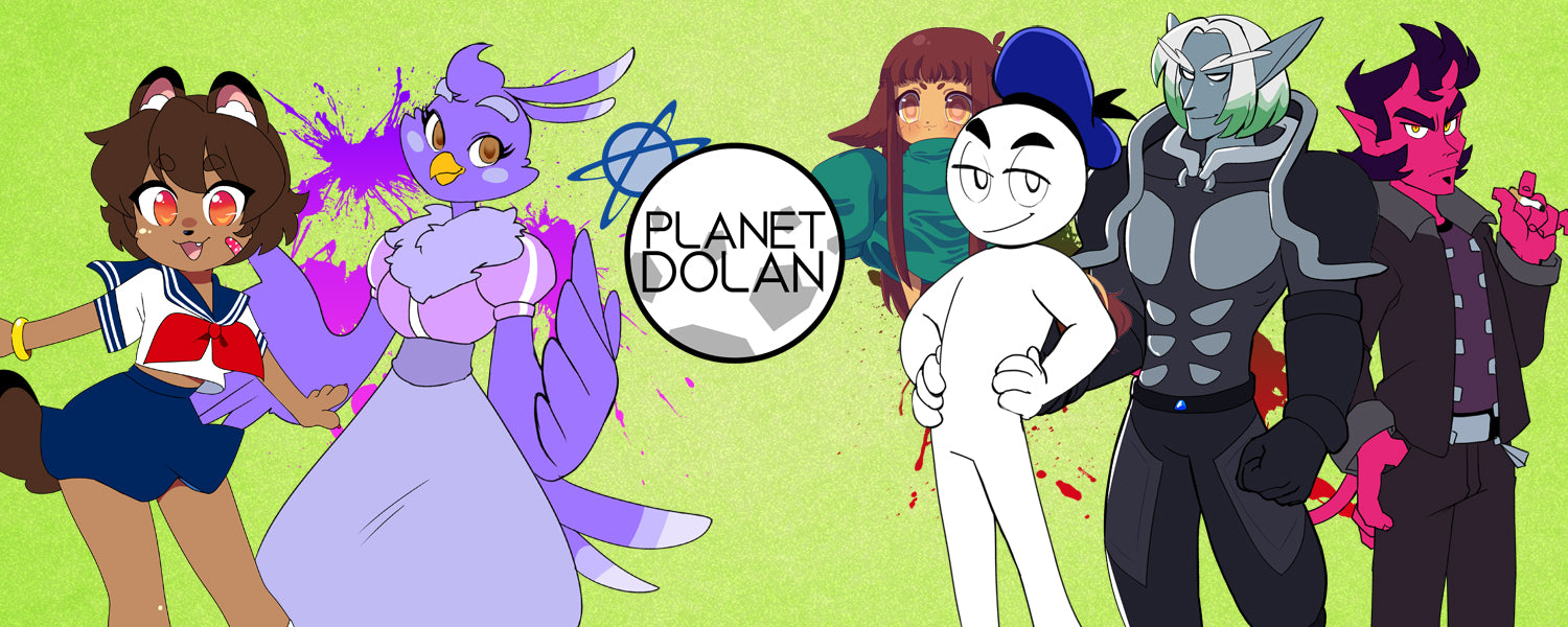 The official merch store of Planet Dolan