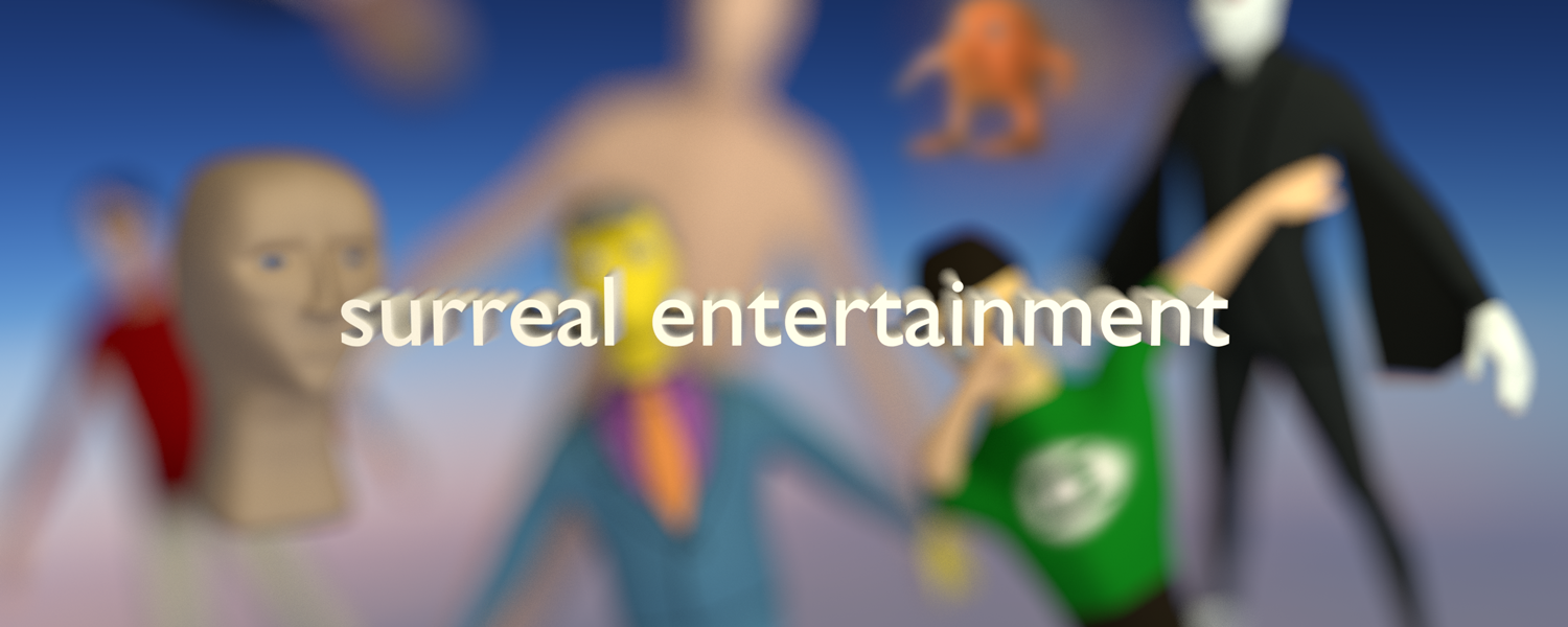 The official merch store for Surreal Entertainment.