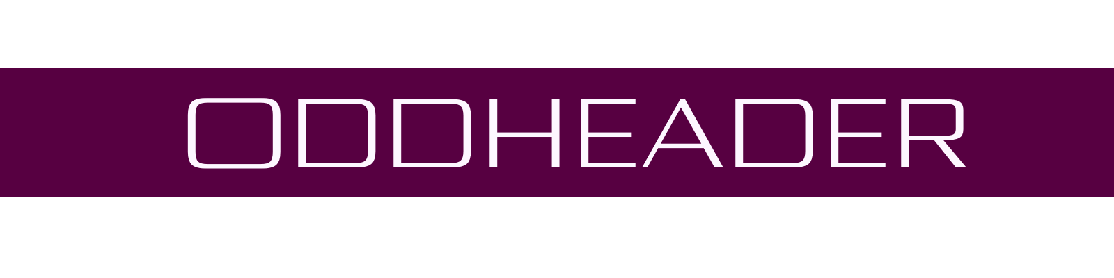 The official merch store for Oddheader!