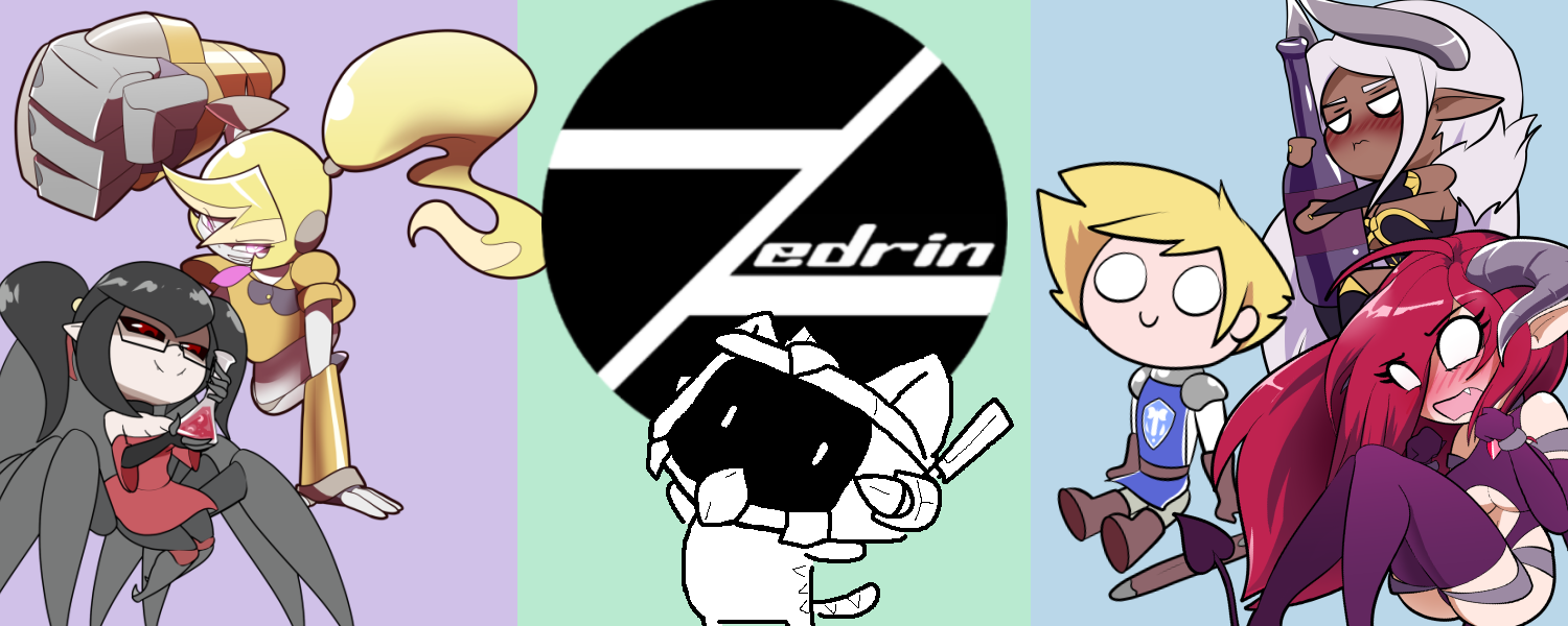 The official merch store for Zedrin