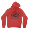 Chomp Collegiate Hoodie Cherry Red