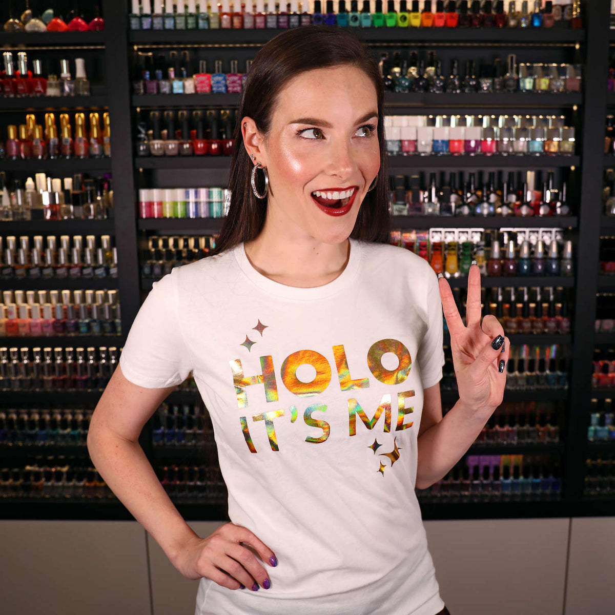 Holo Its Me - Gold Holo - Ladies T-Shirt