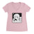 Art Block - Ladies V Neck Pink