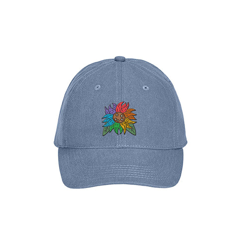 Pride Sunflower Dad Hat