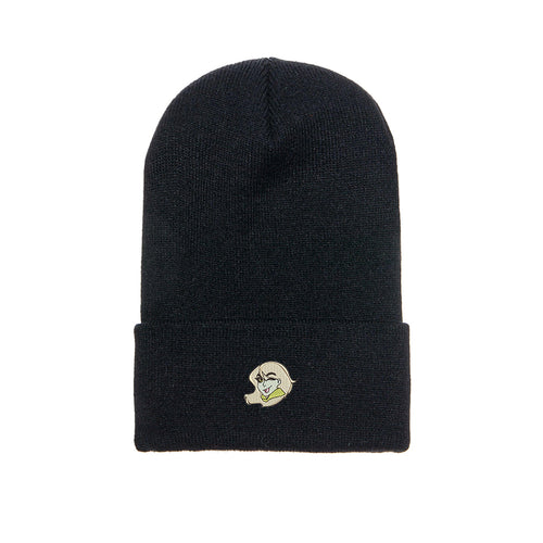 Spechie Embroidered Beanie Black