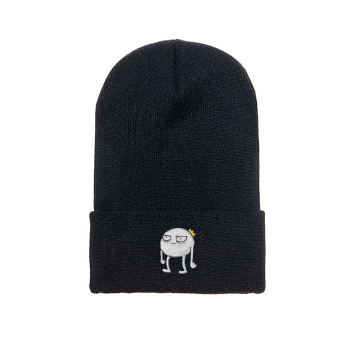 Blob - Embroidered Beanie Black