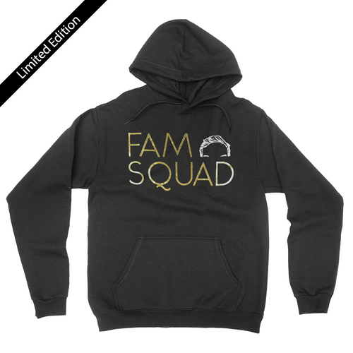 Fam Squad - Luxe Edition Gold Foil - Unisex Pullover Hoodie