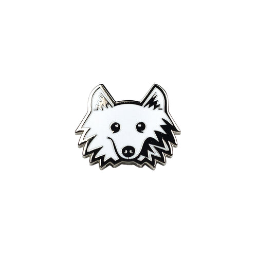 Klondike Season 2 Enamel Pin - Black Metal