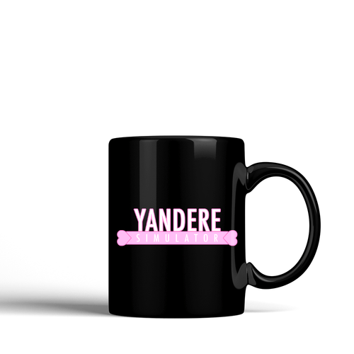 Yandere Simulator - Black Ceramic Mug