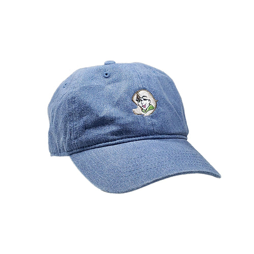 Spechie Embroidered Dad Hat Blue Jean