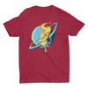 Rushlight Invader Logo T-Shirt Cardinal