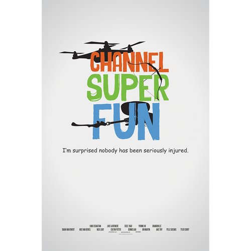 "Channel Super Fun - 24""x36"" Poster"