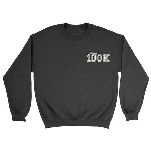 Class of 100K - Embroidered Unisex Sweater