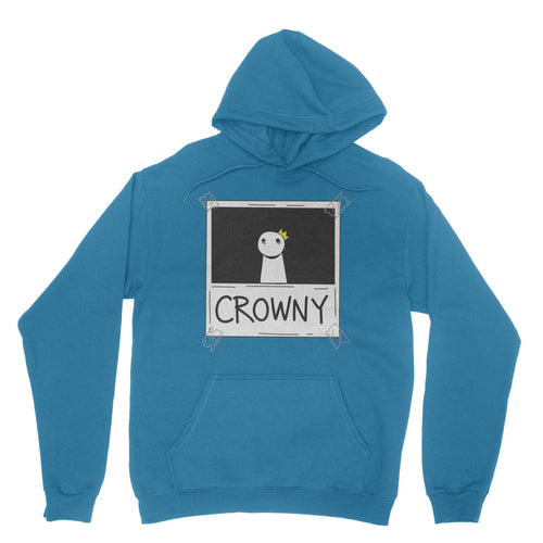 Crowny - Pullover Hoodie Antique Sapphire