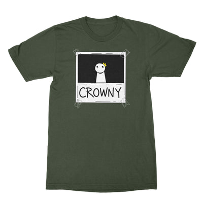Crowny - Unisex Shirt Military Green