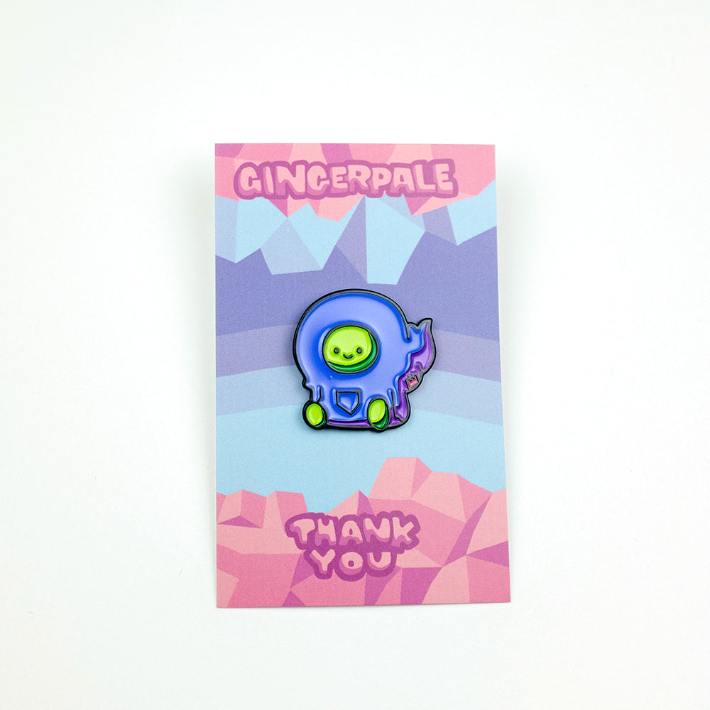Gingerpale First Edition - Sitting Pin