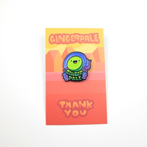 Gingerpale First Edition - Headshot Pin
