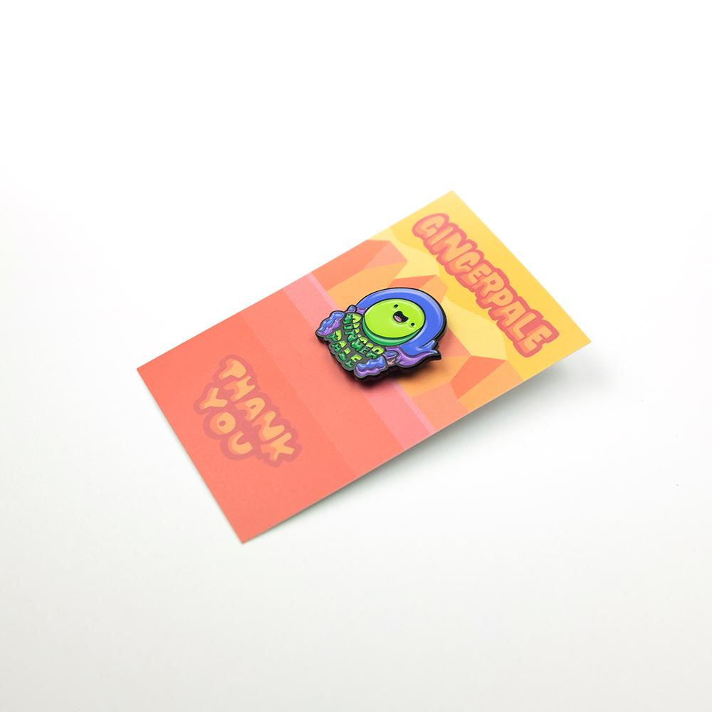 Gingerpale First Edition Headshot Pin