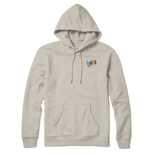 Yikes Rainbow Embroidered Hoodie