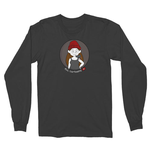 Ell Cartoons Avatar Black Longsleeve