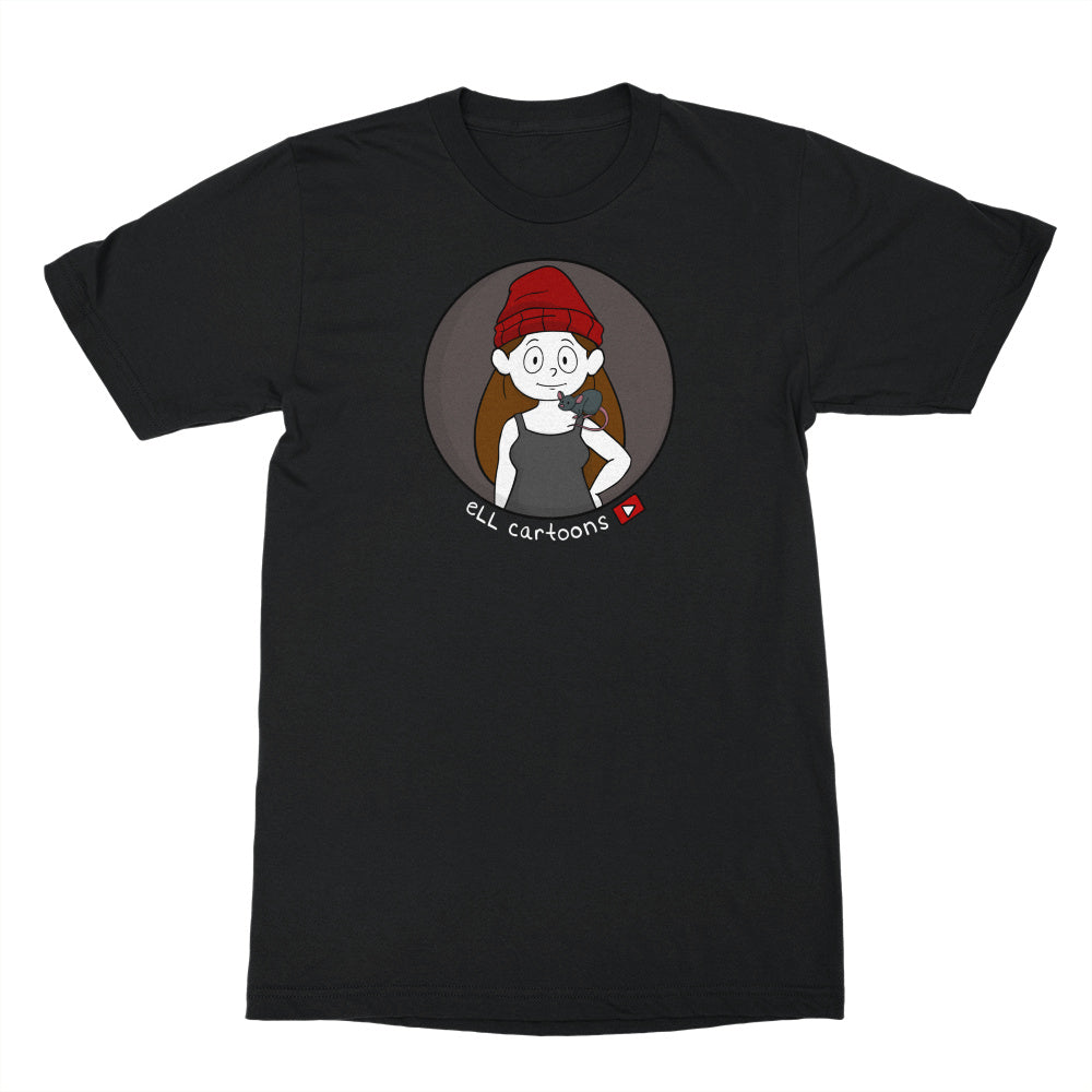Ell Cartoons Avatar Black Shirt