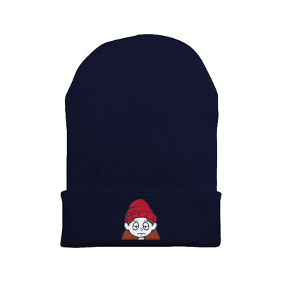 Ell Cartoons Embroidered Beanie
