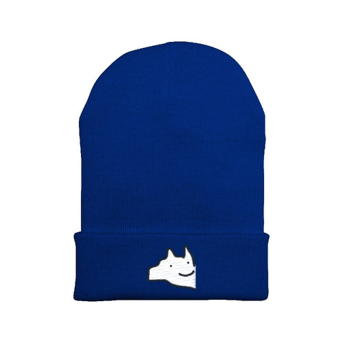 Embroidered Woof Logo Beanie