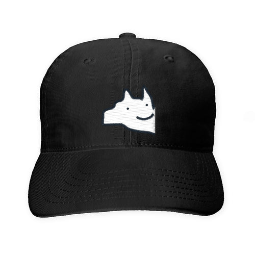 Embroidered Woof Logo Cap